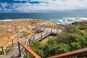 Viewing platform at the Cape Leeuwin Lighthouse