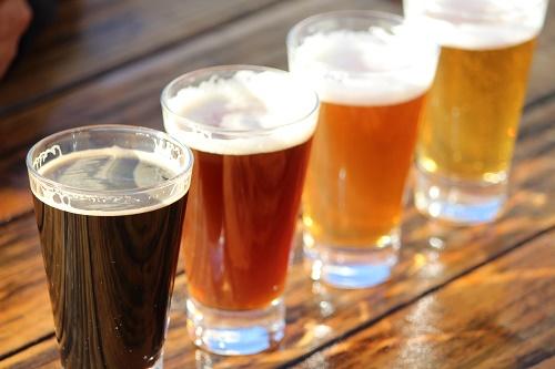 Range of Craft Beers