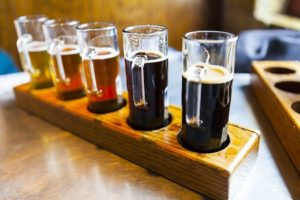 Selection of Colonial Brewing Company Beers
