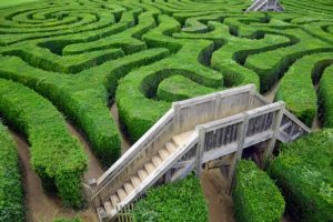Mazes in South West of Western Australia