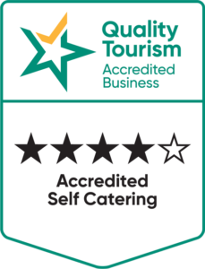 QTAB accredited self catering 4.5 stars