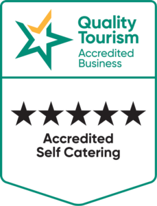 QTAB accredited self catering 5 stars