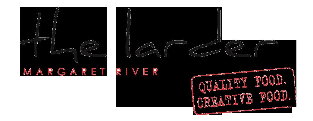 The larder logo