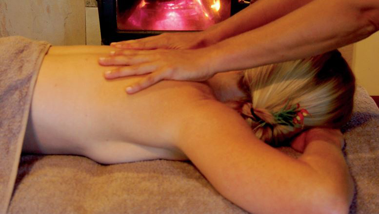 Experience a Hara massage in the comfort of your chalet
