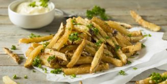 Homemade Parmesan Truffle Fries