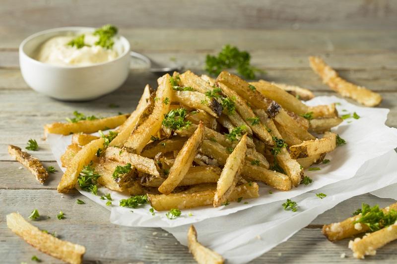 Homemade Parmesan Truffle Fries
