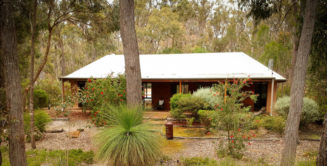 One of our secluded chalets