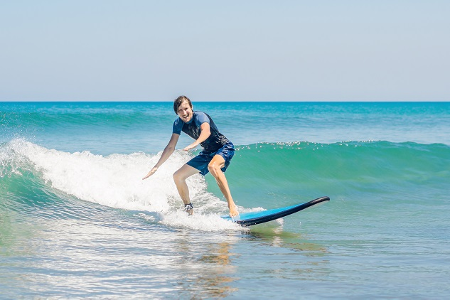 Learn to surf with the Margaret River Surf School