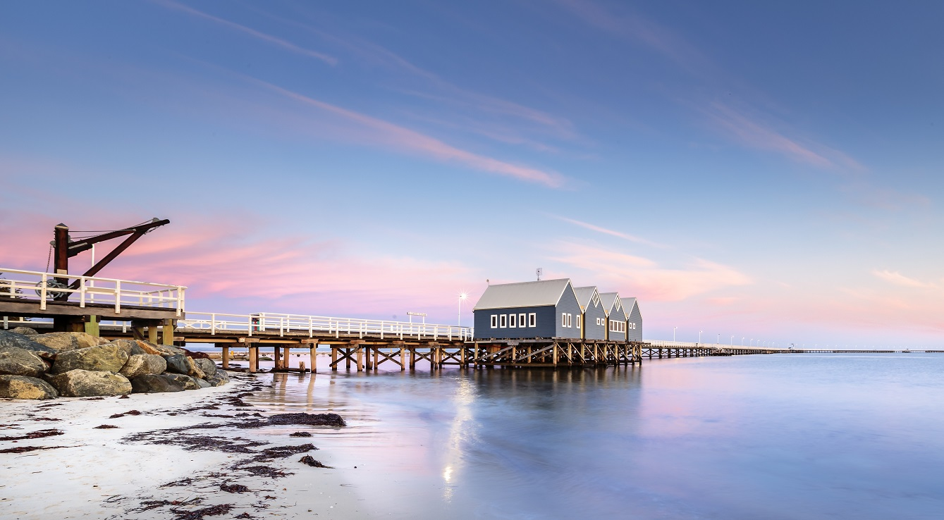 The Busselton jetty is the longest wooden jetty in the world