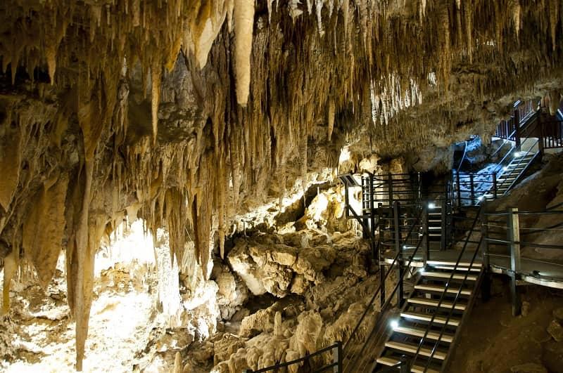 Ngilgi Cave in Yallingup, Western Australia