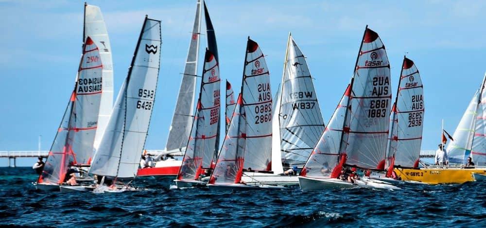 Geographe Bay Race week is one of the region's premier yachting regatta.