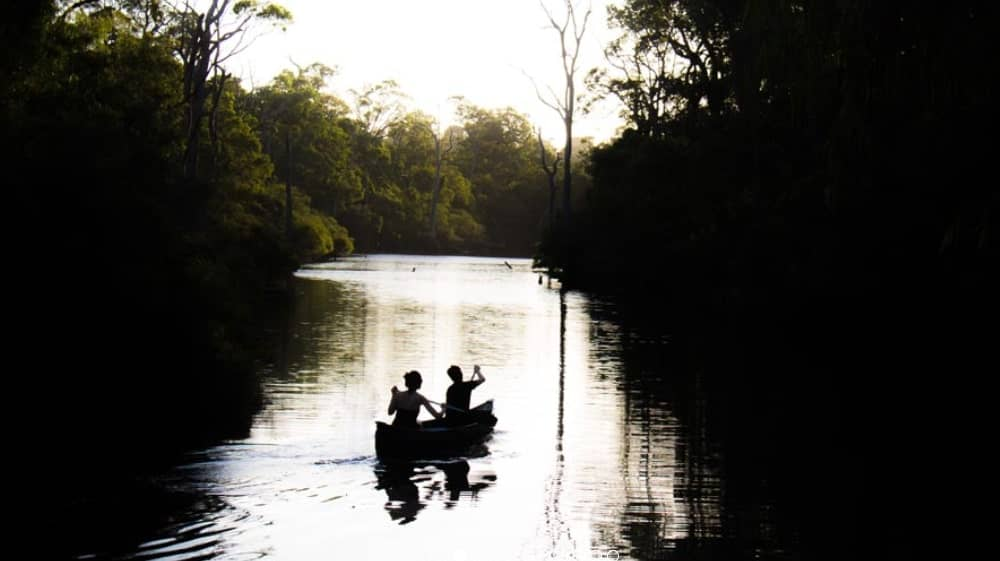Sunset Canoe Tour by Margaret River Discovery Co.