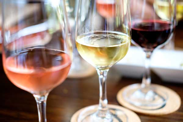 Wine red wine white